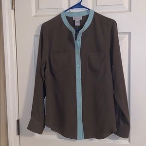 Soft Surroundings Silk Blouse, New Without Tags